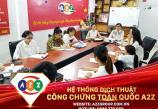 Dịch thuật công chứng tài liệu Du Lịch tại huyện Như Thanh - Thanh Hóa